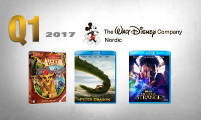 NOEN AV HØYDEPUNKTENE fra Disneys første kvartal 2017 på videomarkedet.