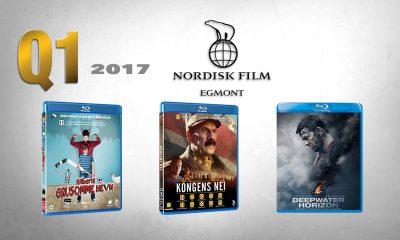 FØRSTE KVARTAL 2017 fra Nordisk Film Distribusjons videoavdeling byr på 2016s største kinofilm i Norge – norske Kongens nei.