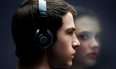 Clay Jensen (Dylan Minnette) og Hannah Baker (Katherine Langford) i ny serie 13 Reasons Why fra Netflix.