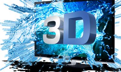 3D-TV-illustrasjonsbilde.