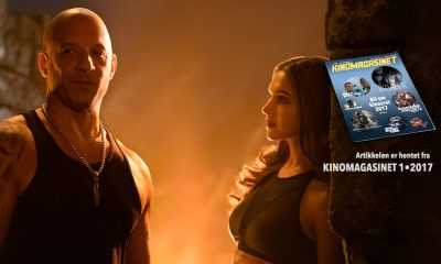 Xander Cage (Vin Diesel)  og Serena Unger (Deepika Padukone) i en scene fra  xXx: Return of Xander Cage.