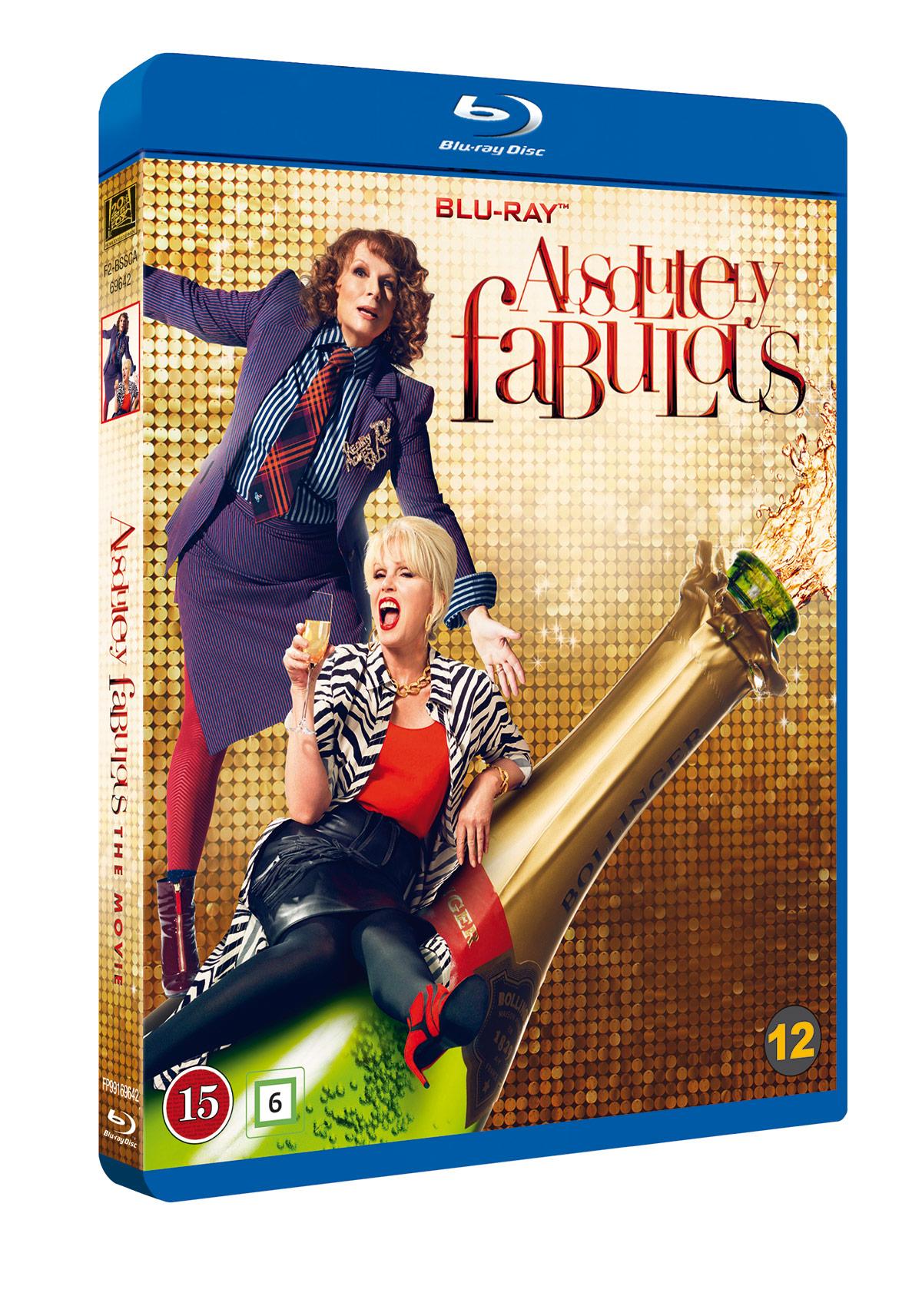 Absolutely Fabulous: The Movie ble lansert på Blu-ray 2. januar 2017.