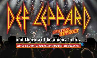 NY BLU-RAY OG DOBBEL-CD: Def Leppard: And There Will Be a Next Time - Live from Detroit.