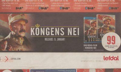 KUN 99 kroner for Kongens nei på BD eller DVD hos Lefdal.