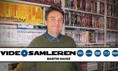 Først ut i VIDEOMAGASINETs nye serie VIDEOSAMLEREN er Martin Hauge fra Fredrikstad. Foto: Privat