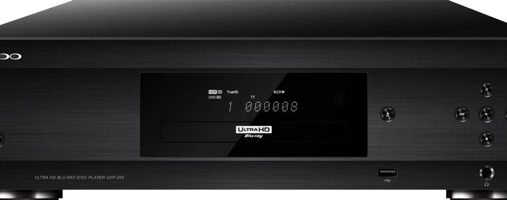 TOPPMODELL SNART KLAR: OPPOs UDP-205 4K UHD Audiophile Blu-ray Disc-spiller.