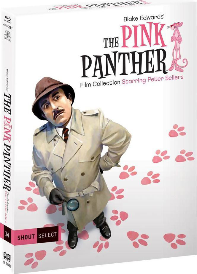 The Pink Panther Film Collection slippes på Blu-ray Disc i USA 11. april 2017.