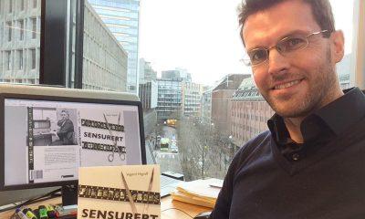 Vegard Higraff står bak boken Sensurert: Historien om Statens Filmkontroll. Foto: Privat