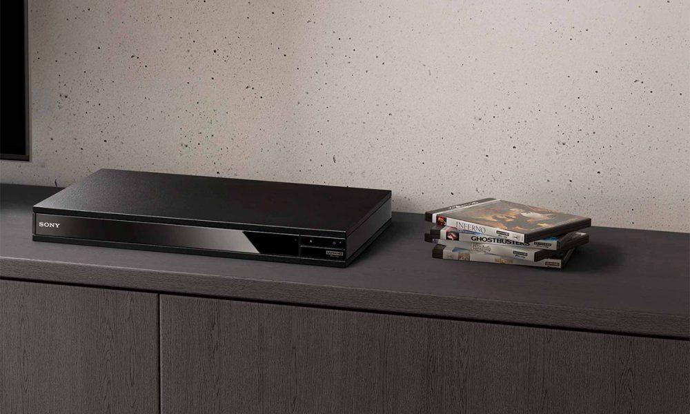 Slik presenterer Sony sin første UHD-spiller, en slank, elegant liten sak: UBP-X800ES.