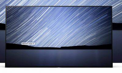 """4K HDR OLED A1-serien til Sony fås i 77"""", 65"""" og 55""""."""