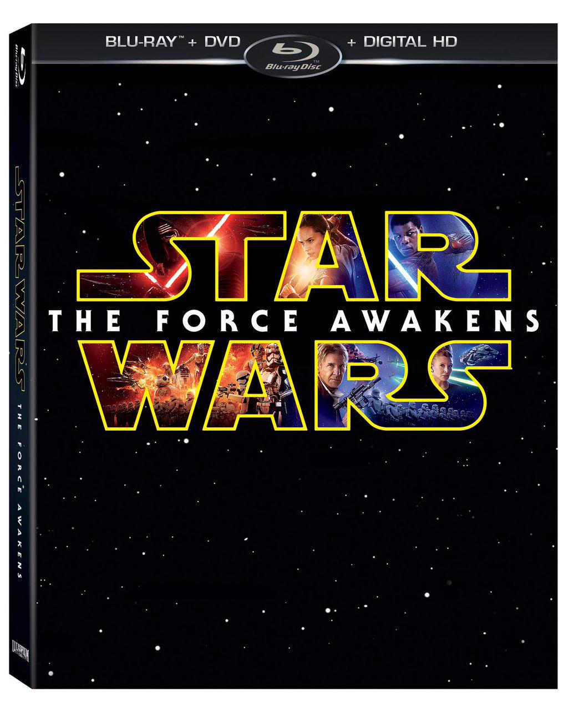 Omslaget på en spesialutgave av Star Wars: The Force Awakens.