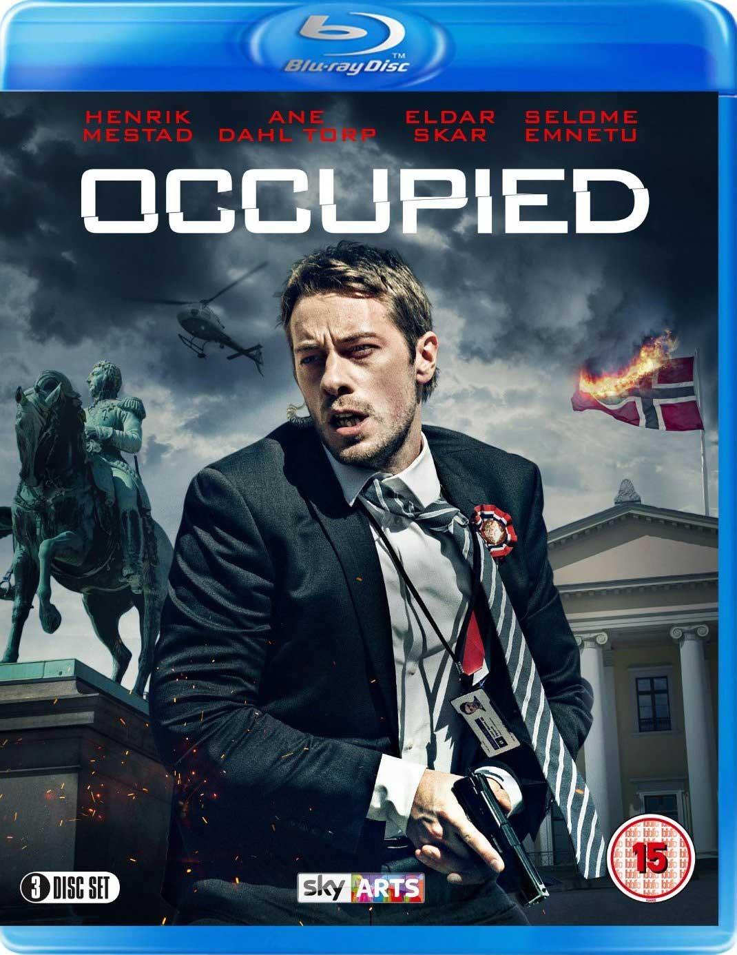 Britisk Blu-ray-utgave av sesong en av Okkupert – Occupied.