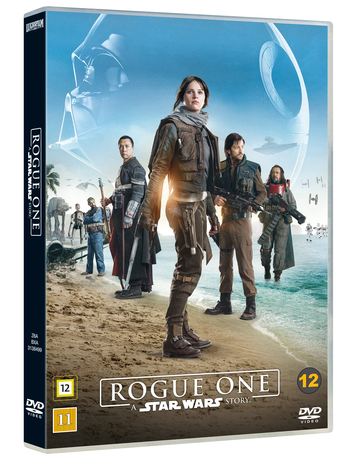 DVD: Rogue One: A Star Wars Story.