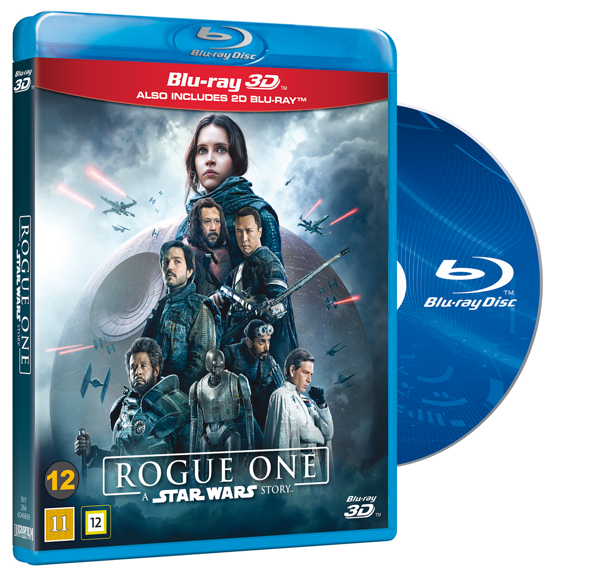 BLU-RAY 3D: Rogue One: A Star Wars Story.