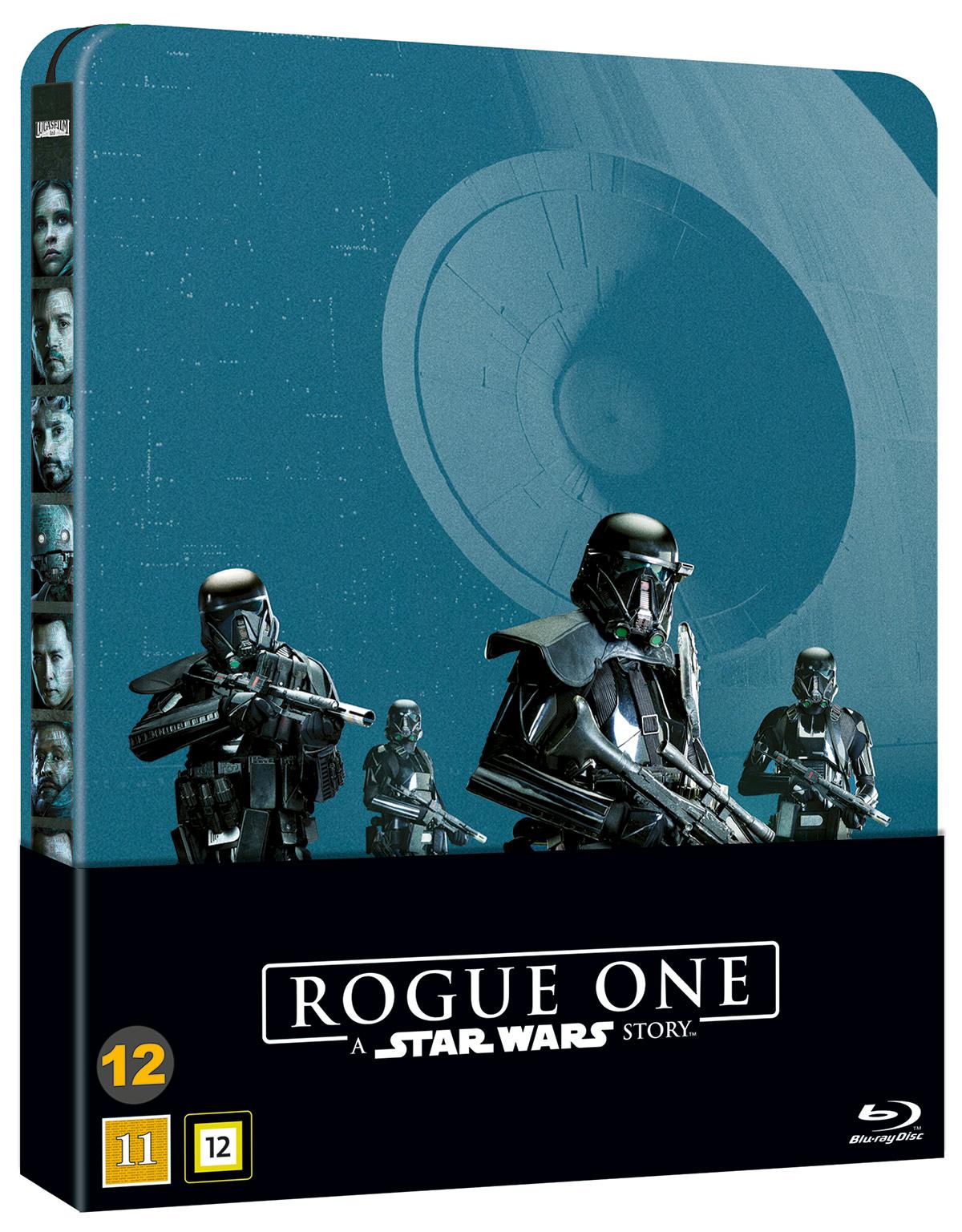 BLU-RAY STEELBOOK: Rogue One: A Star Wars Story.