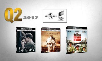 Universal Sony satser hardt på UHD-formatet i 2017. Både av nye filmer og gode klassikere. Montasje: VIDEOMAGASINET ©