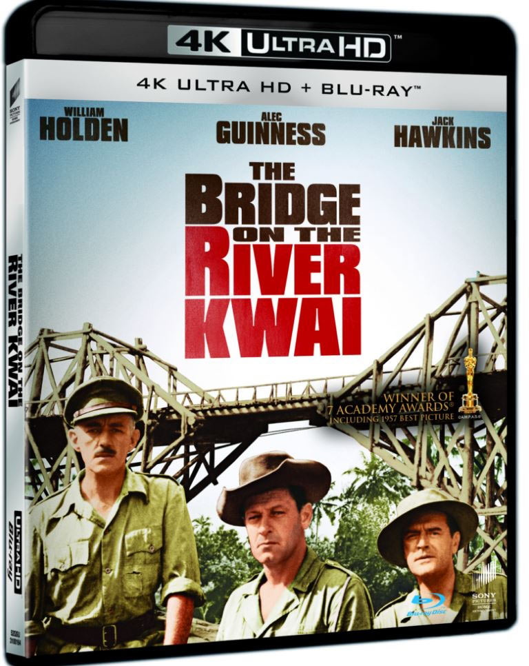 UHD-DEBUT: 19. juni er det klart for superklassikeren The Brigde on the River Kwai.