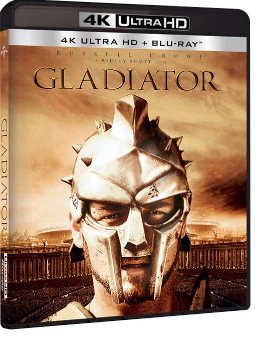 UHD-DEBUT: 12. juni utgis Gladiator på formatet.